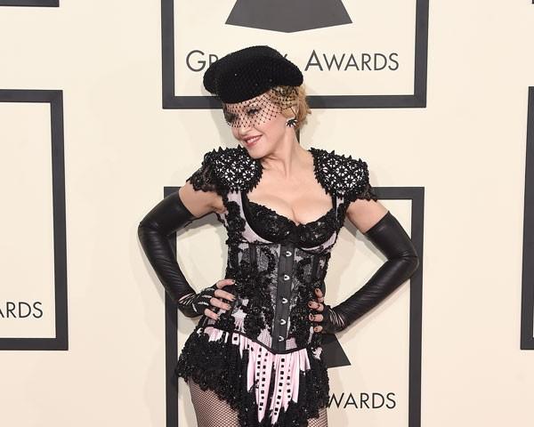 Madonna na 57 edição do Grammy (Foto: Getty Images)