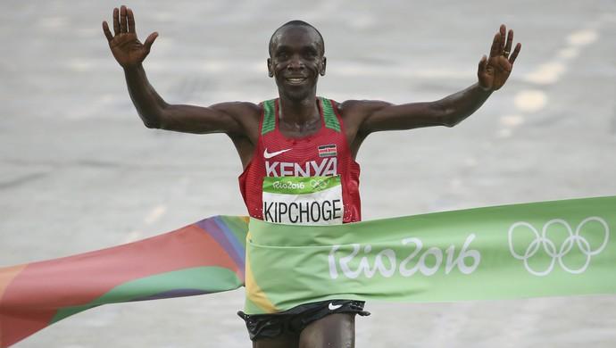 Eliud Kipchoge maratona Olimpíada ouro (Foto: Sergio Moraes / Reuters)