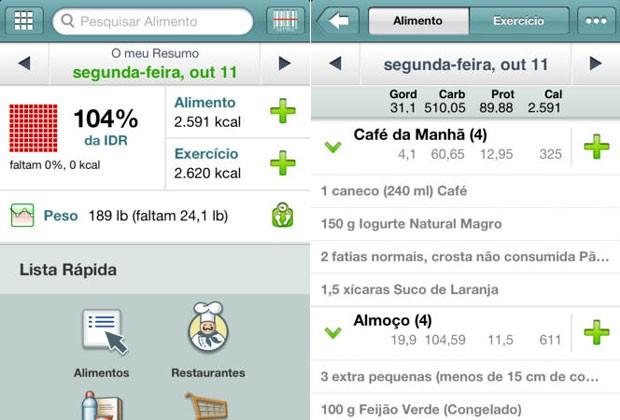 aplicativos_fatsecret (Foto: Divulgação)