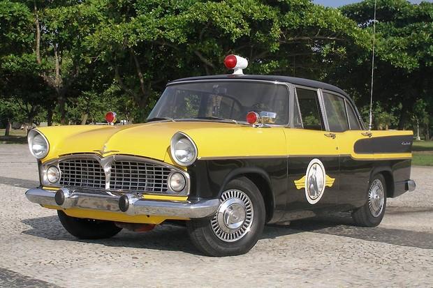 Simca Chambord de O Vigilante Rodoviário (Foto: Reprodução)