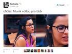 'BBB 17': Gêmea Emilly é comparada na web a Munik, do 'BBB 16'