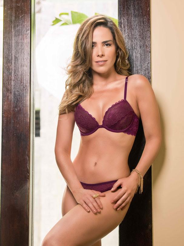 Wanessa Camargo mostra sua feminilidade em ensaio de lingerie (Foto: Divulgação)