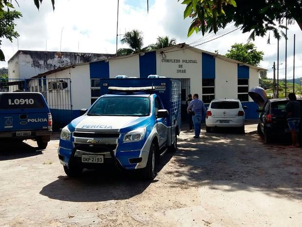Detento foi morto dentro do complexo policial de Ipiaú (Foto: Giro em Ipiaú)