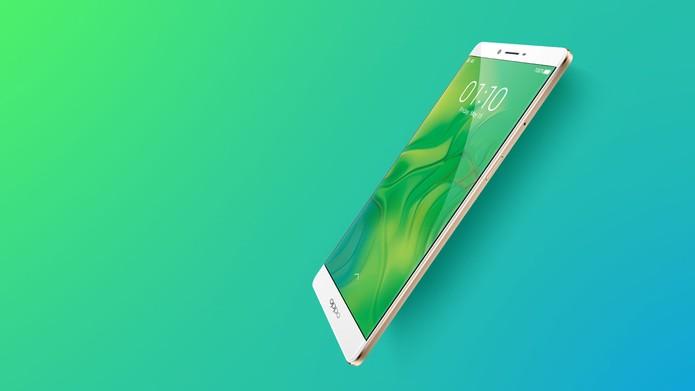 Oppo R7 Plus chega com bateria potente e tela de 6 polegadas Full HD no mercado internacional (Foto: Divulgação/Oppo)