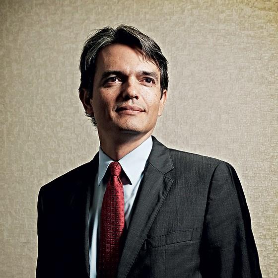 """BAGUNÇA Júlio Marcelo  em seu gabinete.  """"A maquiagem contábil foi deliberada"""" (Foto: Adriano Machado)"""