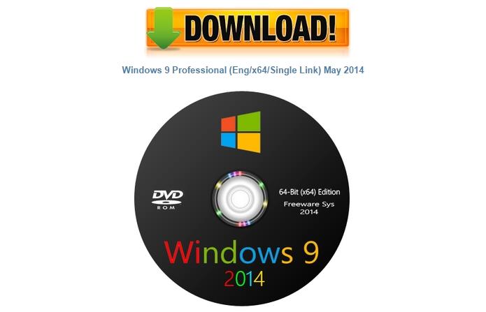 Trend Micro identificou sites que fornecem malwares no lugar do Windows 9 (Foto: Reprodução)