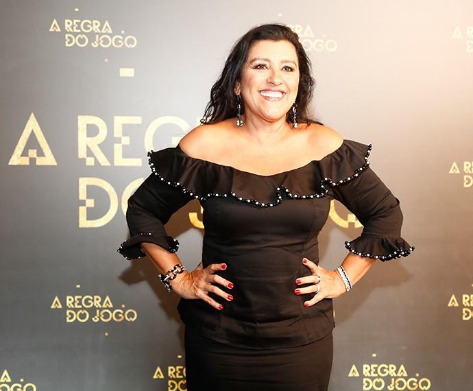 Regina Casé sempre sorridente! (Foto: Raphael Dias/Gshow)