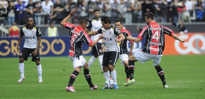 Corinthians x Joinville (Foto: Marcos Ribolli)