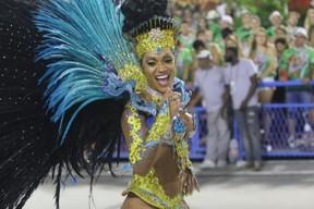 Ana Paula Evangelista na tijuca (Foto: Daniel Pinheiro /AgNews )
