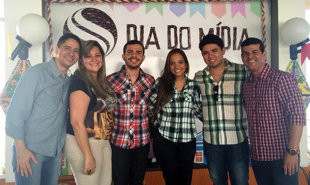Equipe TV Sergipe e FM Sergipe (Foto: Divulgação/TV Sergipe)