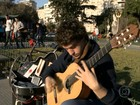 Arte e cultura se unem ao ar livre pelas ruas de Buenos Aires
