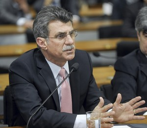 Senador Romero Jucá (PMDB-RR)  (Foto: Marcos Oliveira / Agência Senado)