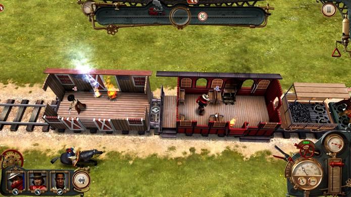 Os combates são a pior coisa de Bounty Train (Foto: Divulgação/Daedalic Entertainment)