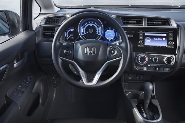 Honda Fit EX Interior (Foto: Divulgação)
