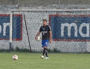 André Lima treina com o Grêmio em Quito (Foto: Hector Werlang/Globoesporte.com)