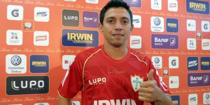 Douglas Washington, da Portuguesa (Foto: Divulgação/Site oficial)