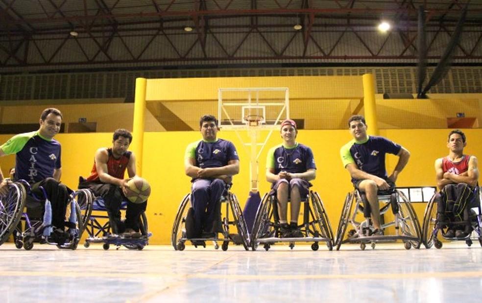 Basquete sobre rodas (Foto: Gustavo Arakaki)