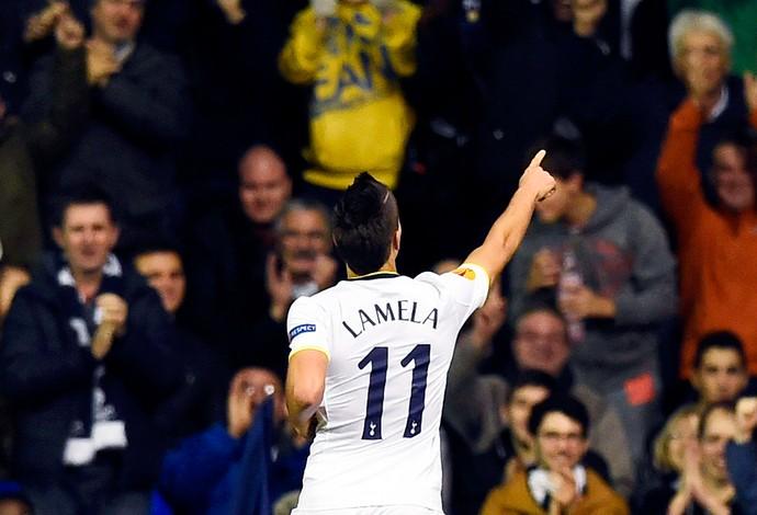 Erik Lamela Tottenham  (Foto: Reuters)