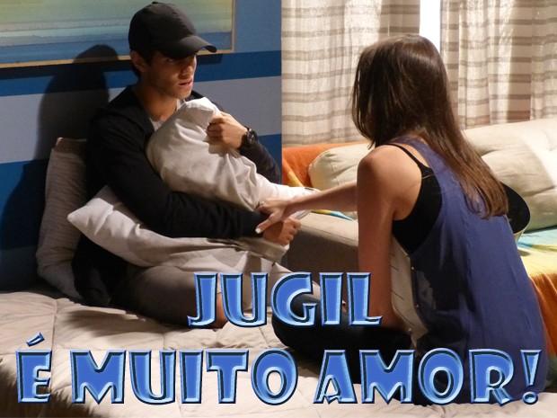 Gil e Ju (Foto: Malhação/ TV Globo)