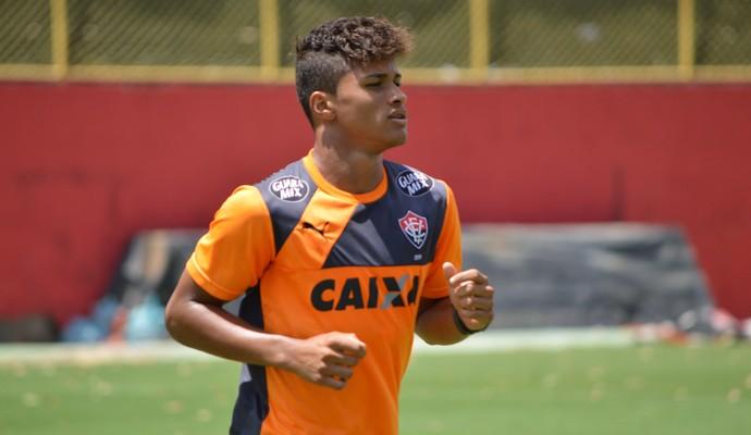 Yan; Vitória (Foto: Francisco Galvão/EC Vitória/ Divulgação)
