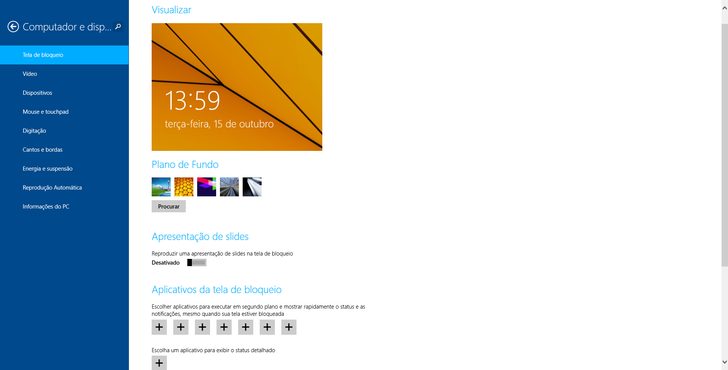 screenshot de Windows 8.1