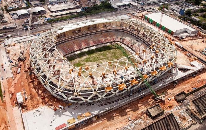 estádio arena  manaus amazonas (Foto: Divulgação  )
