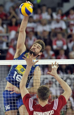 Polônia x Brasil Liga Mundial (Foto: Divulgação/FIBV)