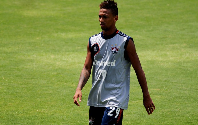 Biro Biro fluminense treino (Foto: Nelson Perez / Fluminense FC)