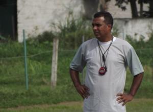 Márcio Bittencourt, técnico interino do boavista (Foto: Gabriel Farias/Futebol Gonçalense)
