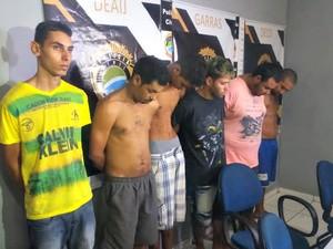 Grupo preso por incêndio em ônibus responde por 9 crimes (Foto: Graziela Rezende/G1 MS)