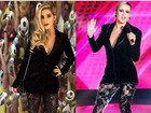 Look de Aline na final do 'BBB 15' é quase igual ao de Claudia Leitte