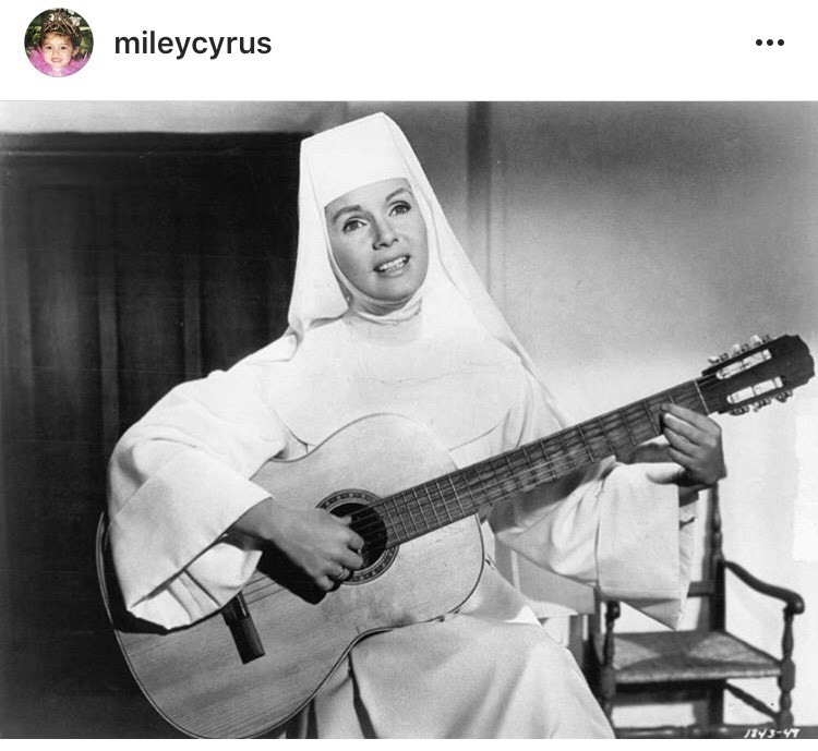 Post de Miley Cyrus (Foto: Reprodução)