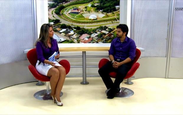 Gil Luna fala  (Foto: Acre TV)
