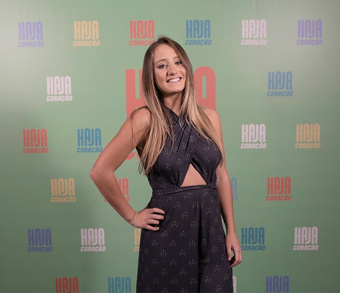 Bruna Griphao será Carolina Talarico, vizinha da família da Tancinha (Foto: Ellen Soares/ Gshow)