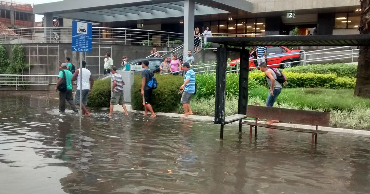 Chuva volta a provocar alagamentos em vias de Porto Alegre - Globo.com