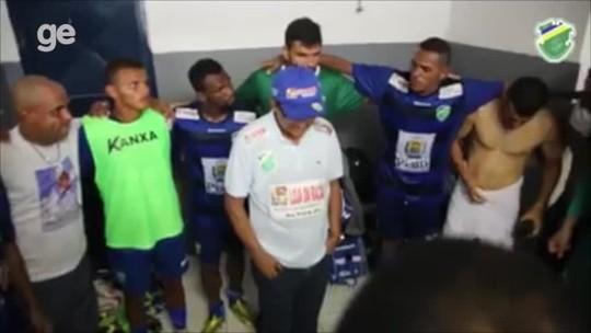 Em despedida do Altos, Diá revela que goleiro Alex Alves reforçará o Sampaio
