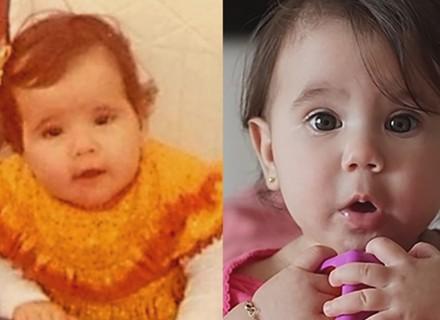 Deborah Secco, sobre a filhinha Maria Flor: 'Parece comigo quando eu era bebê'; compare