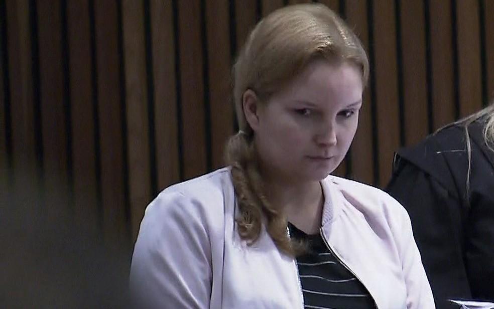 Elize Matsunaga foi julgada pela morte do marido (Foto: GloboNews/Reprodução)