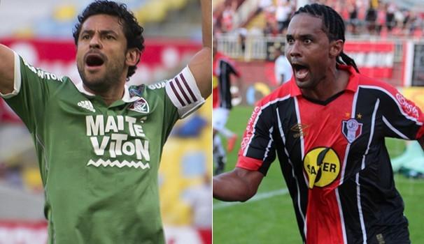 Fluminense x Joinville (Foto: frame)