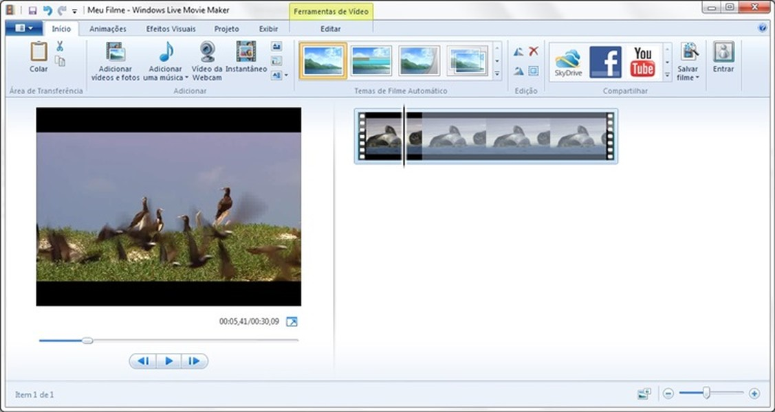 windows movie maker how to cut