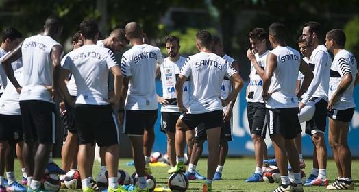 cardápio variado (Ivan Storti/Santos FC)