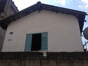 Casa onde Marlete morou em Jandira  (Foto: Roney Domingos/ G1)