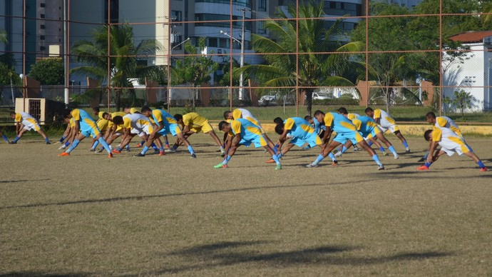 Aracaju FC (Foto: Osmar Rios)