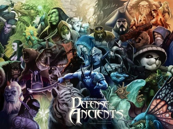 Designers e programadores de Defense of the Ancients saíram do projeto para criar League of Legends (Foto: Divulgação)