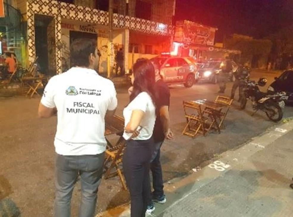 Operação Sossego apreende 12 equipamentos de som em Fortaleza. (Foto: Divulgação/SSPDS)