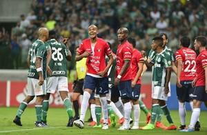 Palmeiras x Jorge Wilstermann Alex Silva (Foto: Marcos Ribolli)