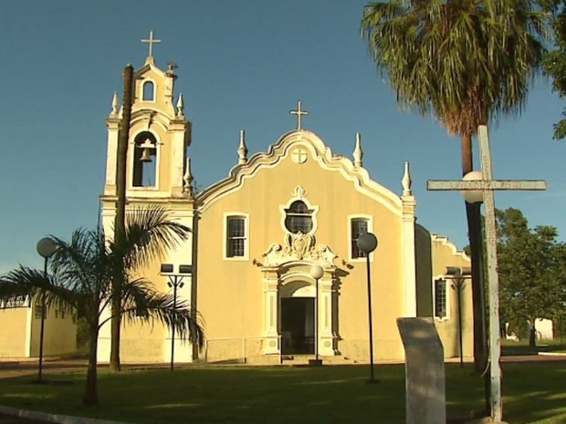 Igreja centenária pode virar patrimônio histórico em distrito de Araraquara (Foto: Marlon Tavoni/EPTV)