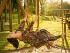 Suzana Alves posta foto grávida e avisa: 'Benjamin está chegando'