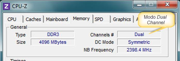 """Na guia """"SPD"""", verifique a memória suportada e os slots disponíveis (Foto: Reprodução/Joelson Santos)"""