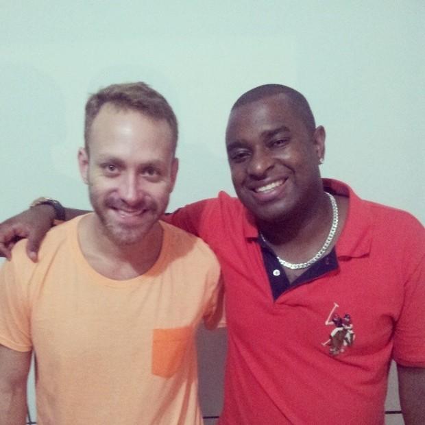 Sérgio Hondjakoff e Dino (Foto: Reprodução / Facebook)